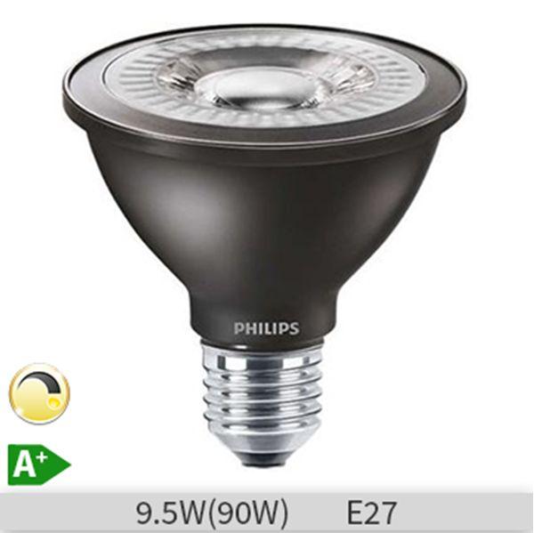 Bec LED Philips Master LEDspot D 9.5-90W 840 PAR30S 25D, lumina neutra 929001198802 http://www.etbm.ro/becuri-led