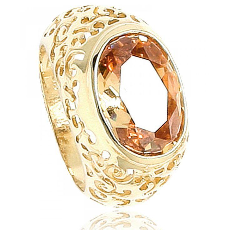 Ladies stone Raja signet rings