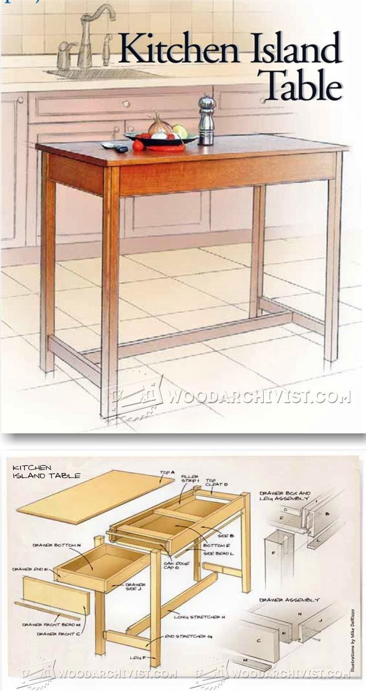 kitchen island table plans 2781 best images about furniture on murphy 5176