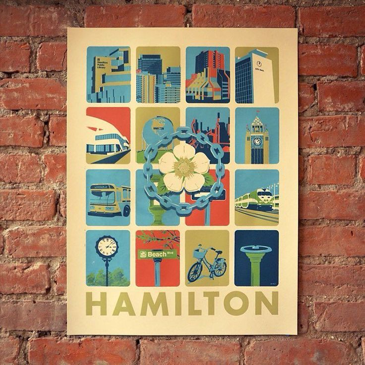 """New Screen Print - 18"""" x 24"""" 5 colours. Available today at Concession Streetfest or at @storeonjames #HamOnt"""