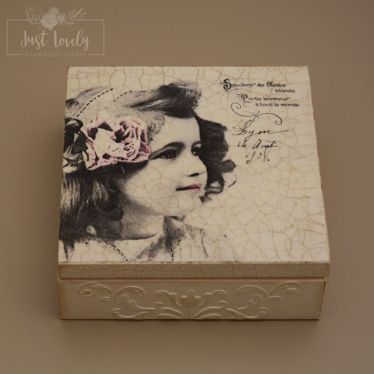 Decoupage box,jewelry box,wooden box,gifts,vintage box,girl,accessories…