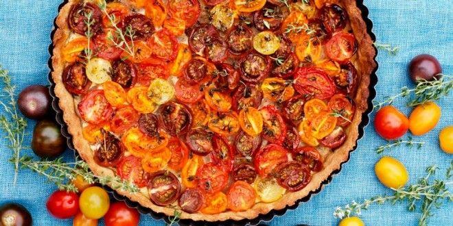 Tomattærte – til tomatelskerne, dem med for mange i drivhuset og alle de andre  