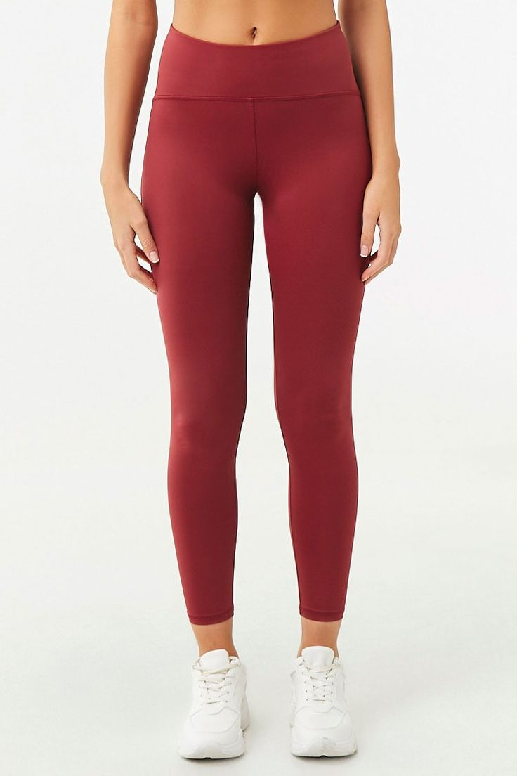 Active Seamed Leggings | Forever 21 (With images) | Lulu ...
