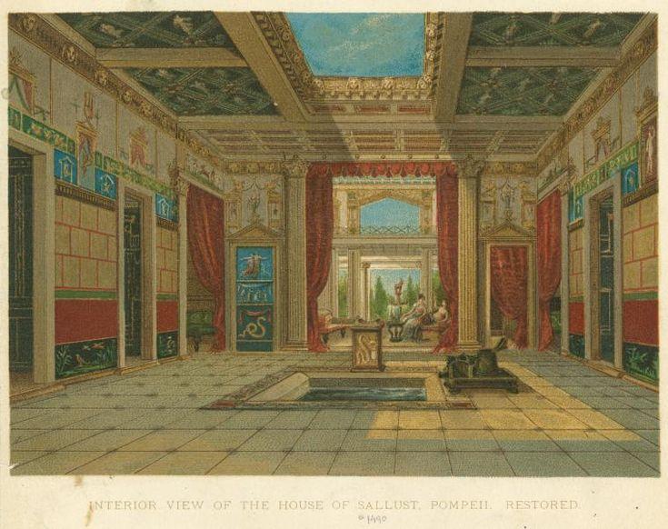 261 Roman Architecture Residential Buildings Pompeii