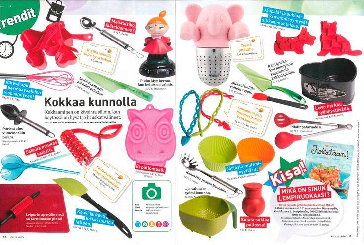 Heirolilta monenlaista koululaisen kokkailuun! Tutustu tuotteisiin: www.heirol.fi Lähde: Koululainen-lehti 01/2016  #lapsikokkaa #lapsetkeittiössä #koululainen #kotitalous