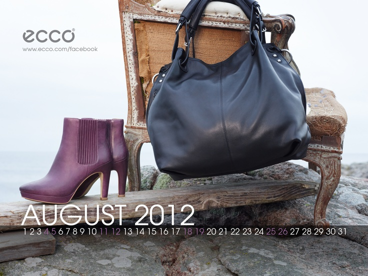 ECCO wallpaper August 2012. Visit http://facebook.com/ecco #ecco