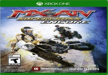 This is <strong>MX vs. ATV: Supercross Encore Edition</strong> on the <strong>Xbox One</strong>. The title says what it is! An MX vs ATV: Supercross racing game that will have you ripping, jumping and scrubbing your way across more than 30 challengin
