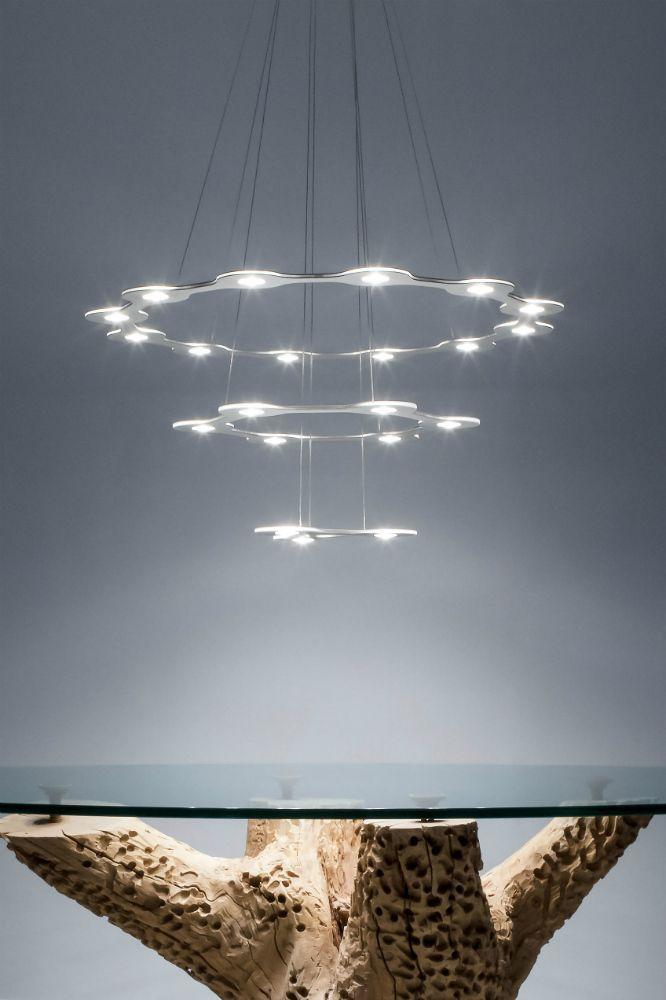 Lumen Center Flat Ring lampade singole o componibili a più luci Led!