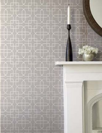 Siam Trellis wallpaper from Sanderson