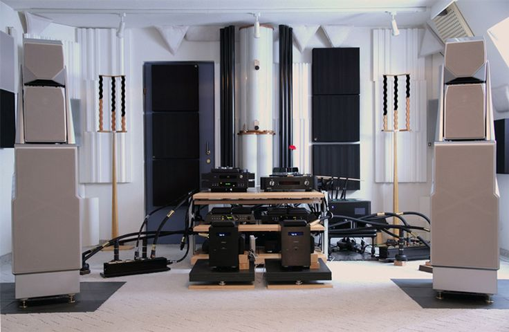 Audionet MAXX amps, Wilson Audio loudspeakers and HB Cable Design