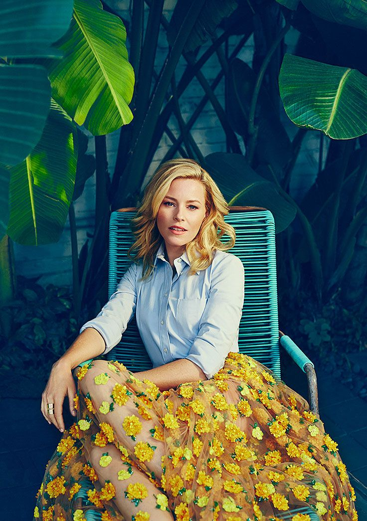Elizabeth Banks by Miller Mobley for The Hollywood Reporter • 2015
