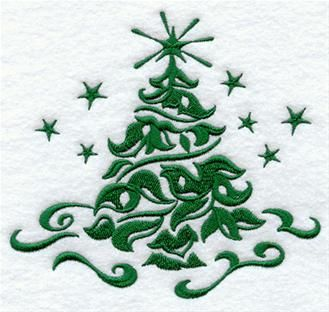 Machine Embroidery Designs at Embroidery Library! - Christmas Trees