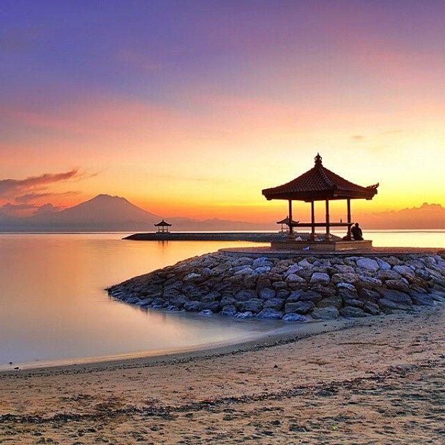 Sanur Beach, Sanur - Bali  Credit: https://instagram.com/p/wjjzJesaFH/
