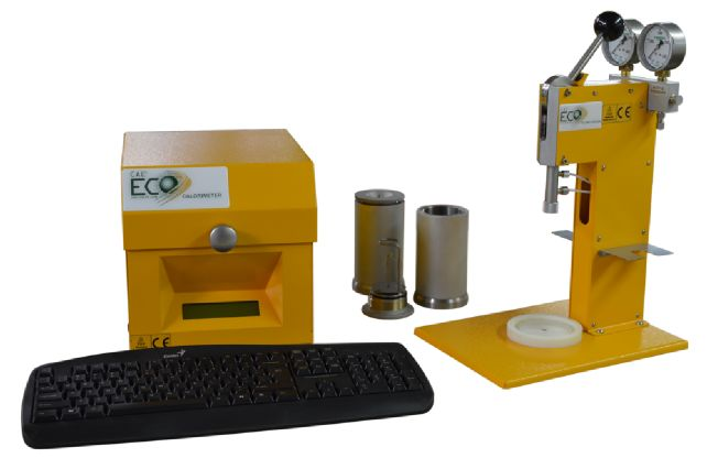 The ECO is setup for standard operation - DDS CALORMETERS