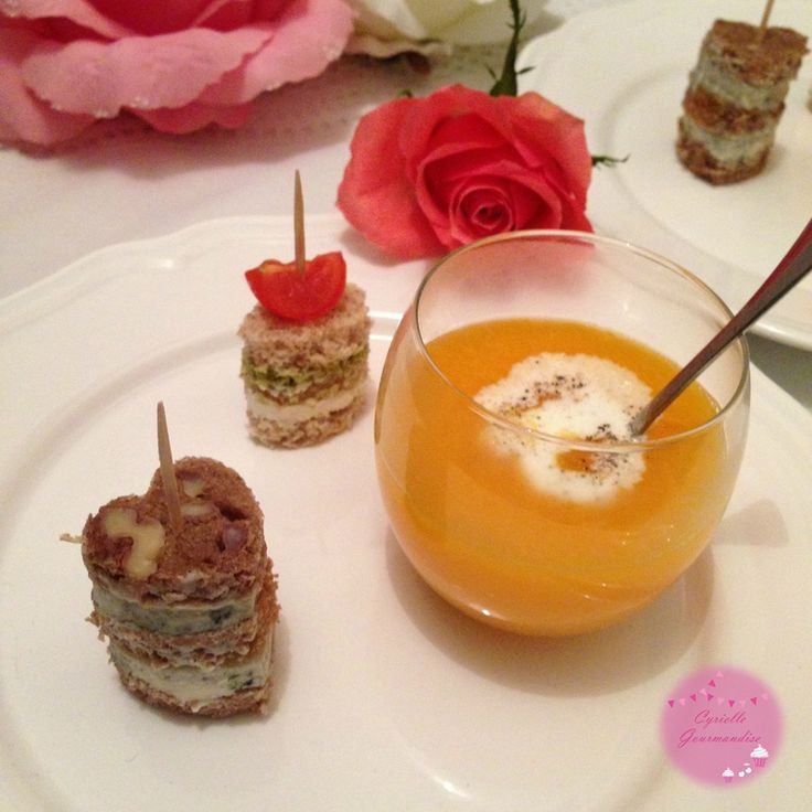 Mini Sandwiches pour un apéro en amoureux {Saint-Valentin}