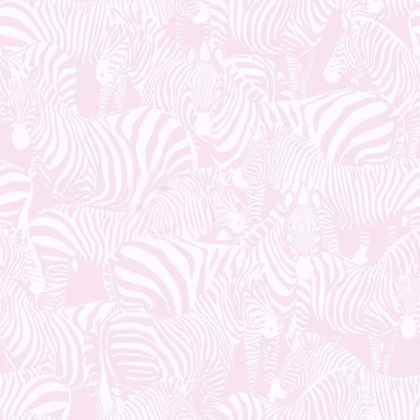 Fräck tapet med zebror från kollektionen Upstairs downstairs 346835. Klicka för att se fler inspirerande tapeter för ditt hem!