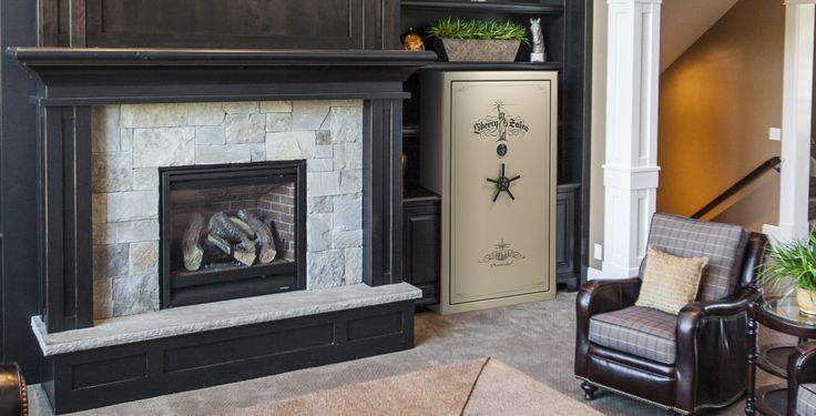How to make a gun safe fit with your home decor.  The best safe for this is a Liberty Safe.