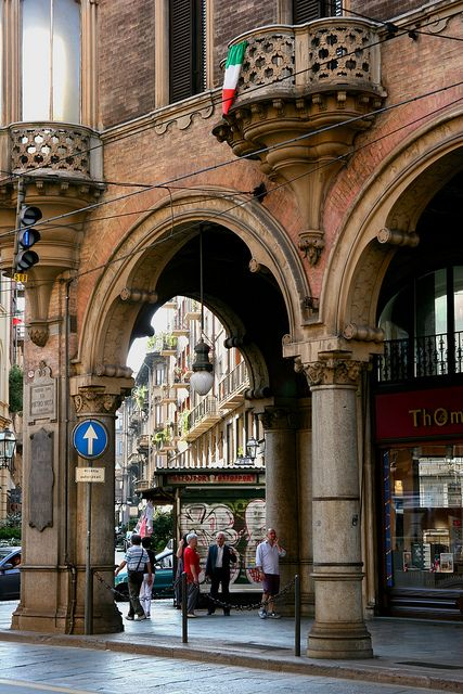 Via Pietro Micca ~ Torino, Turin, Italy