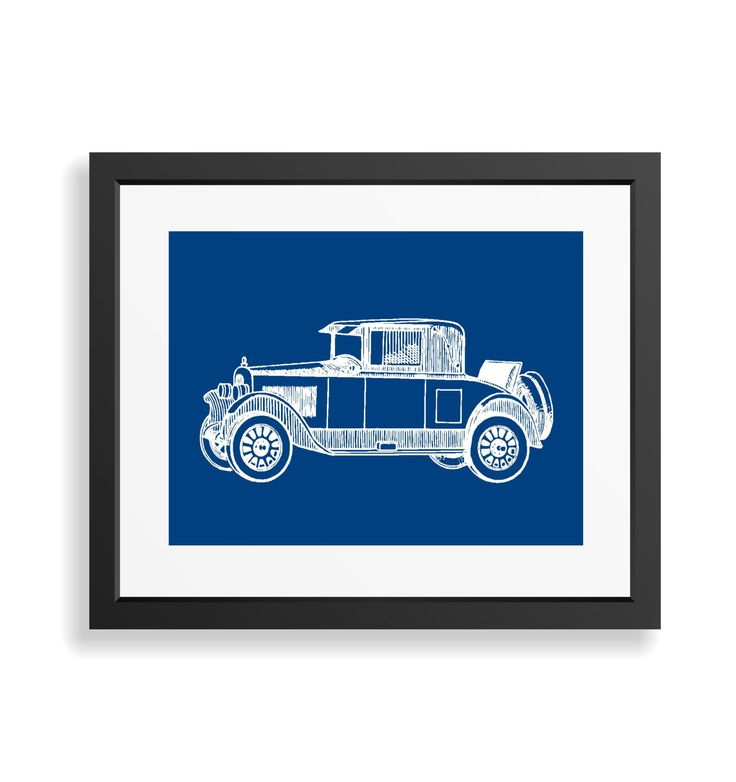 Antique Car Print, Car Art Print, Vintage Car Decor, Automobile Art, Man Cave Decor, Boys Nursery Wall Decor, Gift for Men, Apartment Decor by BonniePrintsElmo on Etsy