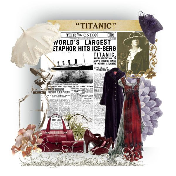 Titanic, created by ornellav on Polyvore