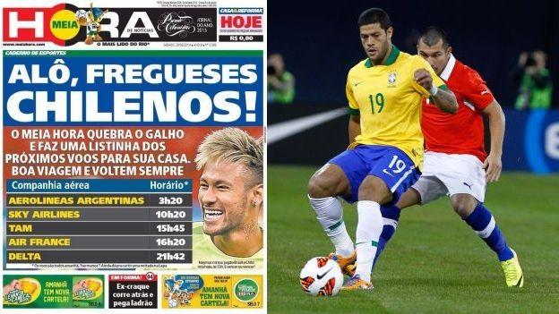Brasil 2014: diario brasileño dio a Chile los horarios de regreso a su país - http://futbolvivo.tv/notas/internacionales/brasil-2014-diario-brasileno-dio-a-chile-los-horarios-de-regreso-a-su-pais/