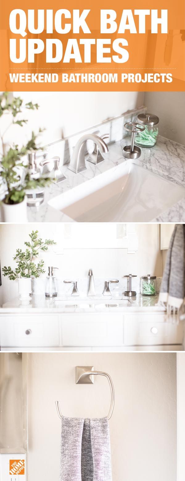 Updating your bathroom hardware is one of the easiest and most affordable ways to make a stylish impact on your bathroom. Click to see how lifestyle blogger Destiny Alfonso used the exclusive Delta Everly Collection to do just that in one weekend.