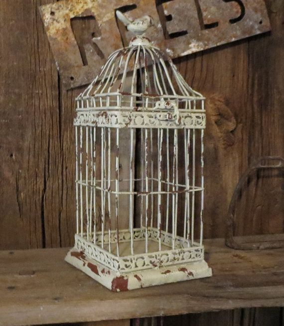 145 Best Images About Shabby Bird Cages On Pinterest