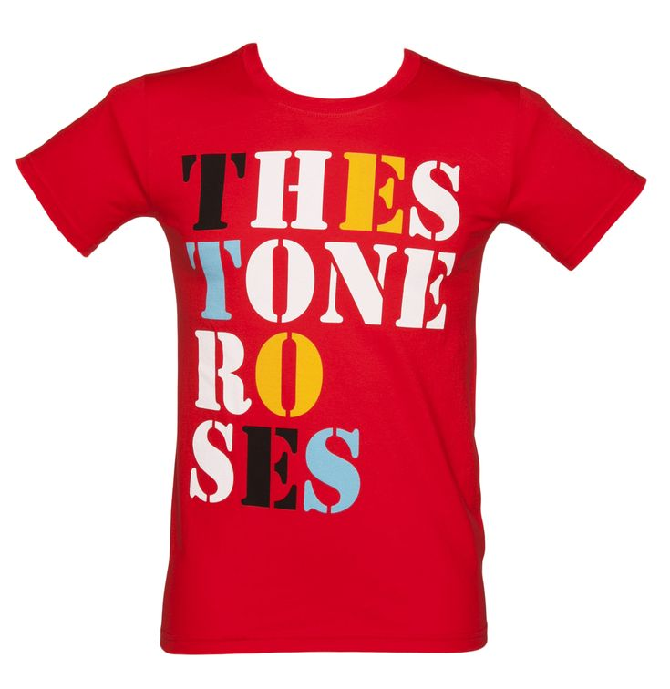 Mens The Stone Roses Font Logo Red T-Shirt Celebrate the Madchester revival with one of the greatest bands of the 90s, The Stone Roses! With the headstrong front-man Ian Brown and musical talents of Mani and the crew, this tee is a great way t http://www.comparestoreprices.co.uk/t-shirts/mens-the-stone-roses-font-logo-red-t-shirt.asp