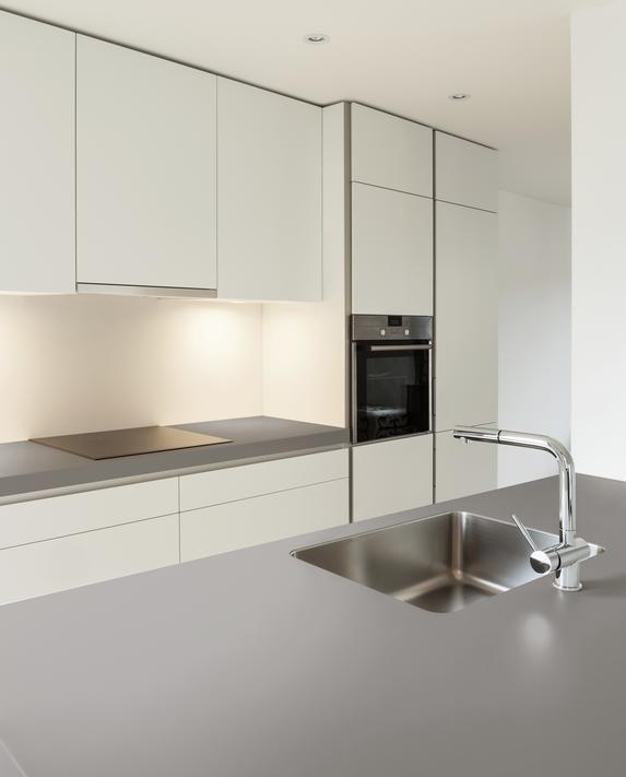 New dekton ventus finish dekton kitchen pinterest - Witte quartz werkblad ...