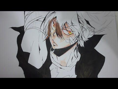 Speed Drawing Tsuna/ Sawada Tsunayoshi - YouTube