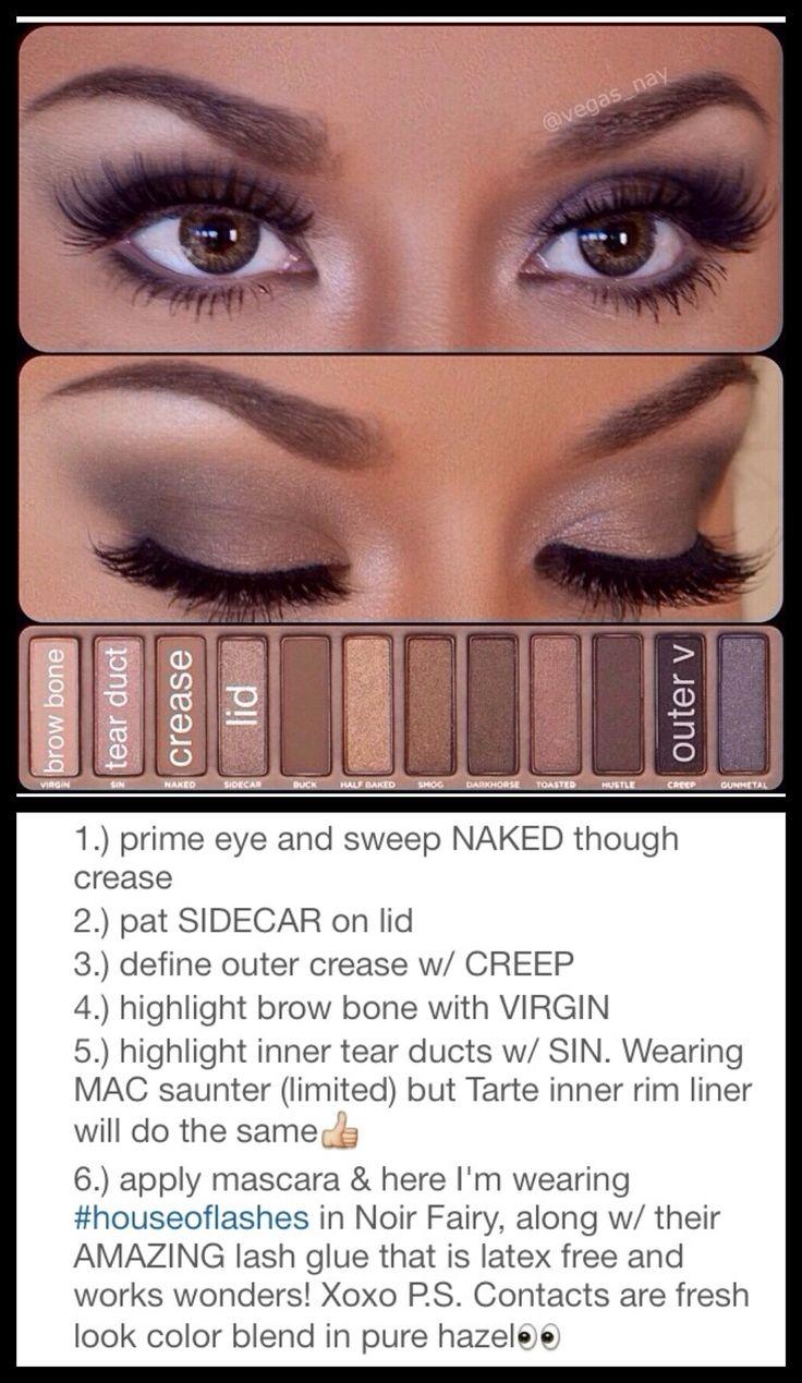 naked palette 1 tutorial #vegasnay