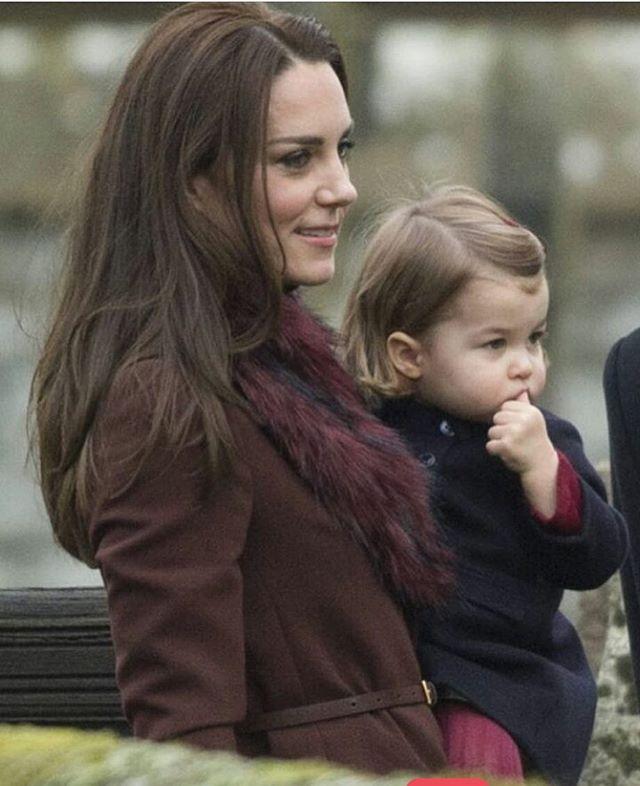 Mother and daughter ❤️ #katemiddleton #princesscharlotte