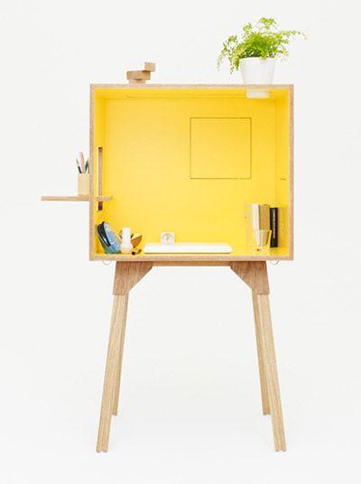 torafu architects: koloro desk and stool