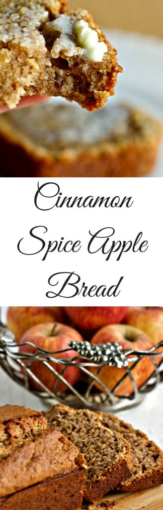 Cinnamon Spice Apple Bread is a cozy winter quick bread full of healthy natural ingredients. Fresh apples, ginger and pure organic maple syrup combine with coconut oil to bring your family loads of nutrients in a yummy snack bread. Healthy Comfort food!
