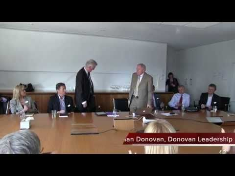 """Video clip of Dr Rick Watson leadership conversation, """"Social Media Strategy for Business.""""   http://www.donovanleadership.com/leadership-conversation-with-dr-rick-watson/"""