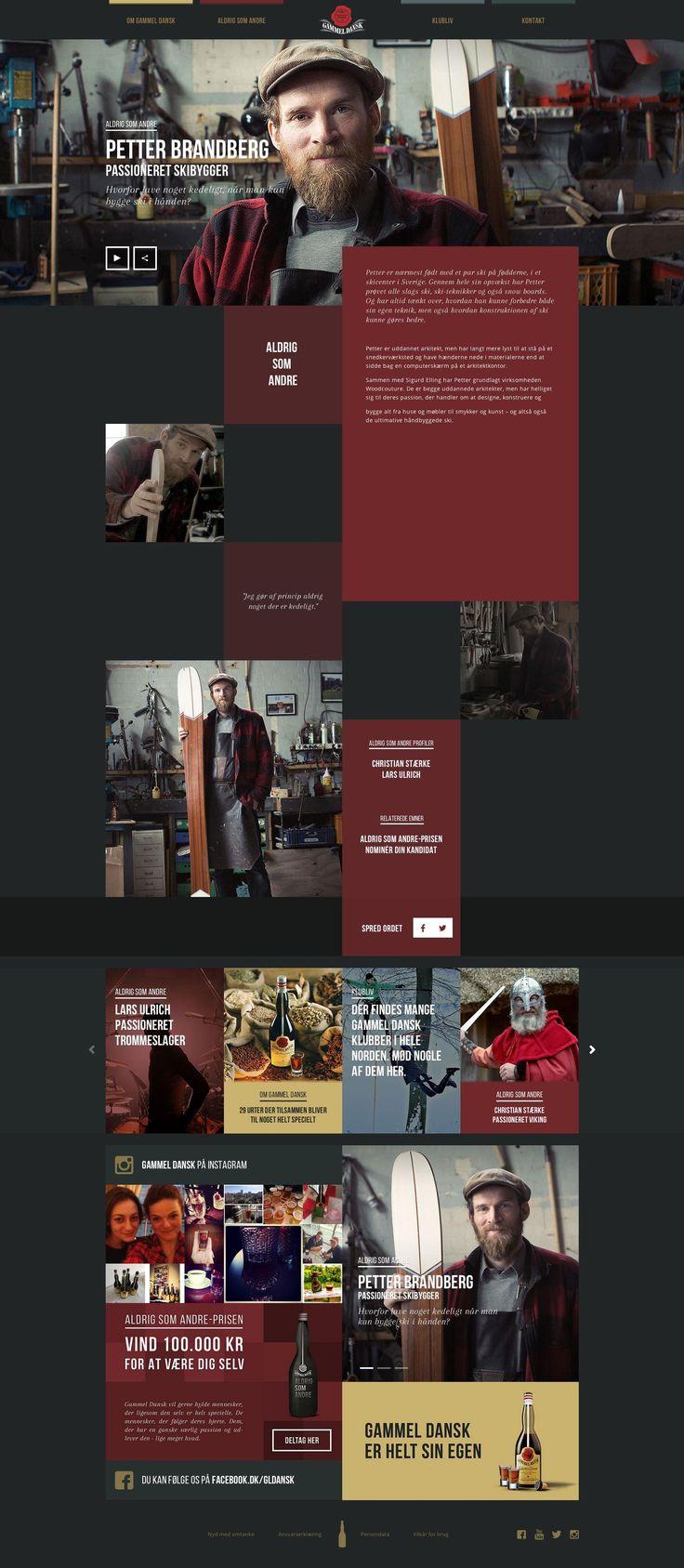 gamledansk webdesign