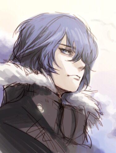 Kirishima Ayato .......... Tokyo Ghoul Sasuke-- I mean Ayato! Ayato is what I said, right Vegeta?