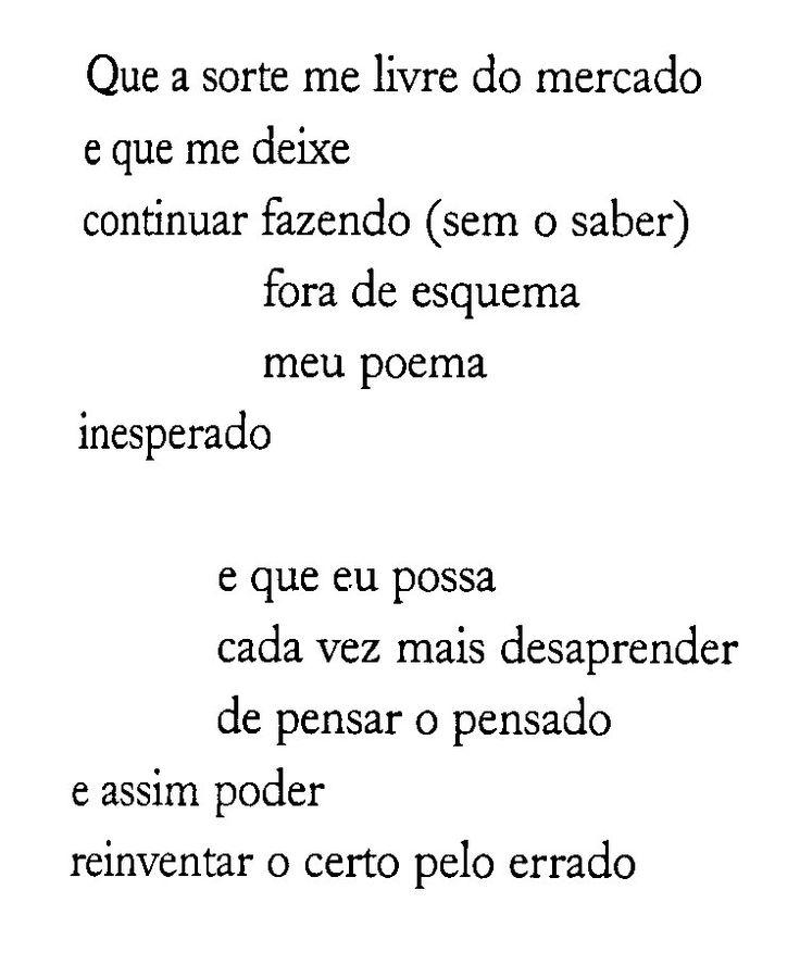 Ferreira Gullar nos mostrando que a poesia nasce do espanto.
