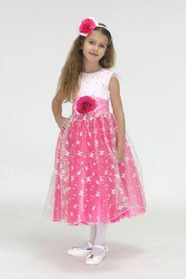 Нарядные платья для девочек, прокат детских платьев