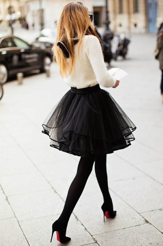 Las faldas de tul