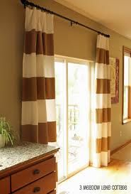 Striped Curtains For Living Room Sliding Door