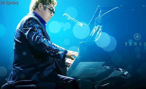 Zpěvák Elton John skončil v nemocnici, ruší všechny koncerty