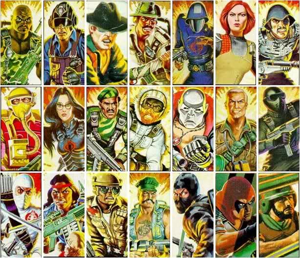 G I Joe Cartoon Characters : Gi joe characters character code names from their