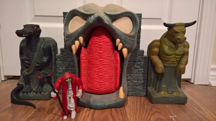 LJN Mumm-Ra's Tomb Fortress. Thundercats | Toys & Hobbies, Action Figures, TV, Movie & Video Games | eBay!