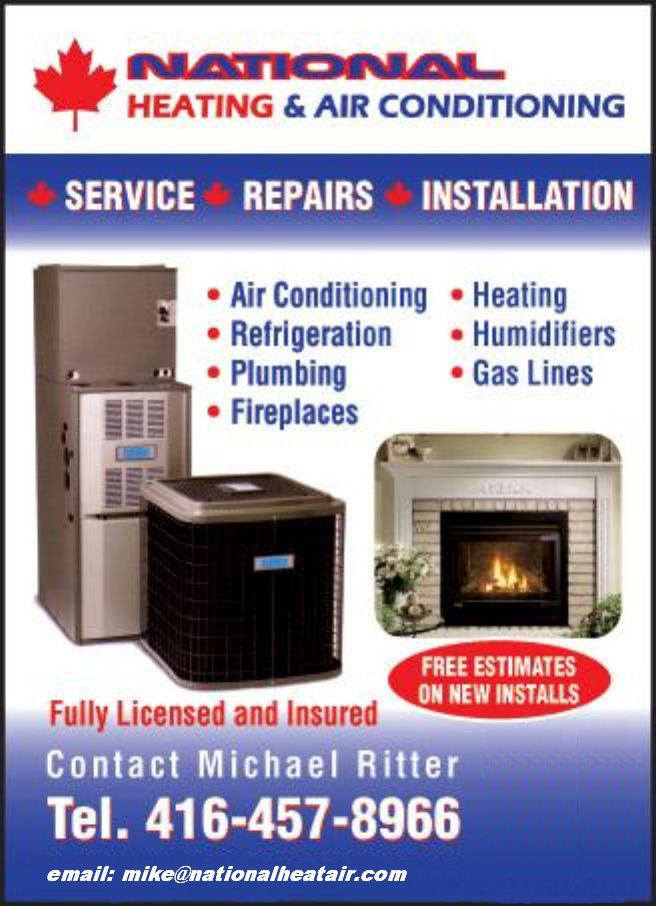 Heating or Air Conditioning problems? Call Mike Ritter!  He's also licensed to do gas lines.  Make sure to tell him that Loyoly sent you...he will treat you well.