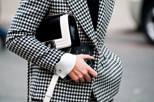 F is for Fashion Fix, Houndstooth
