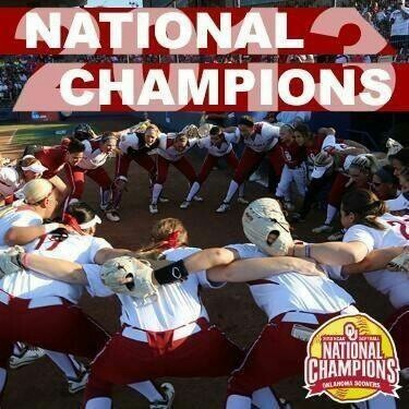 OU..softball champs...beat TENNESSEE  4-0 BOOMER