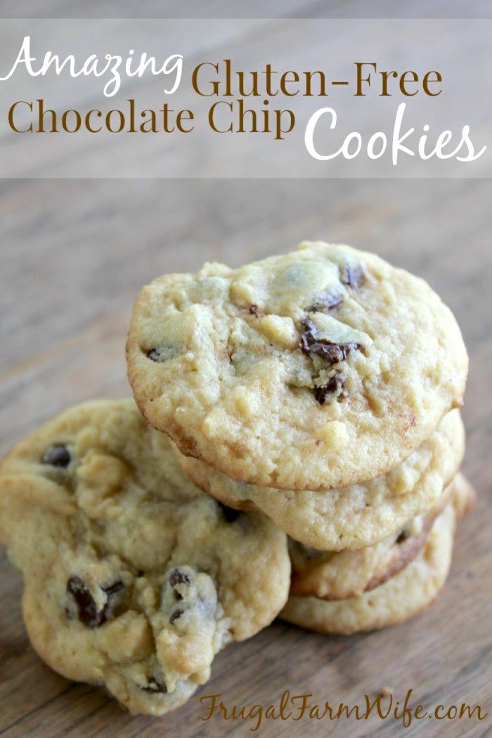 Simply the best gluten-free chocolate chip cookies you'll ever make!