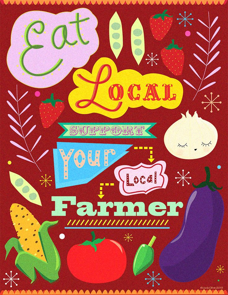 Trying to help spread awareness on eating local, supporting local farmers and food suppliers in your area!