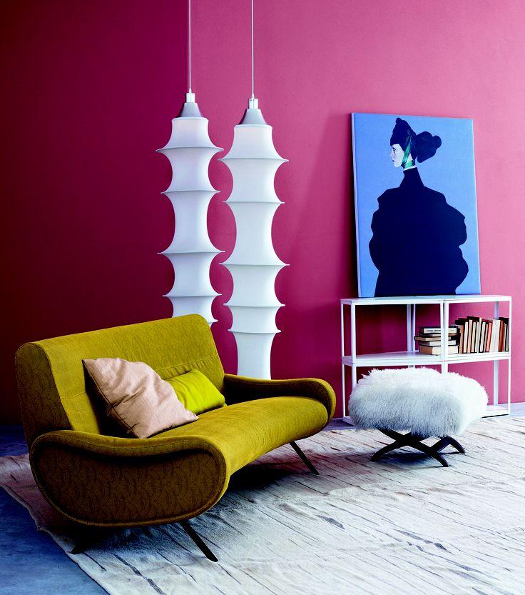 """El encantador sofá """"Madame"""", fabricado por Arflex."""